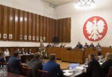 Sesja Rady Miejskiej Będzina - fot. UM Będzin