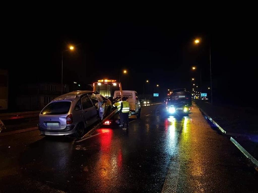 Wypadek na DK79 - fot. Facebook/ @Informacje drogowe Jaworzno i okolice
