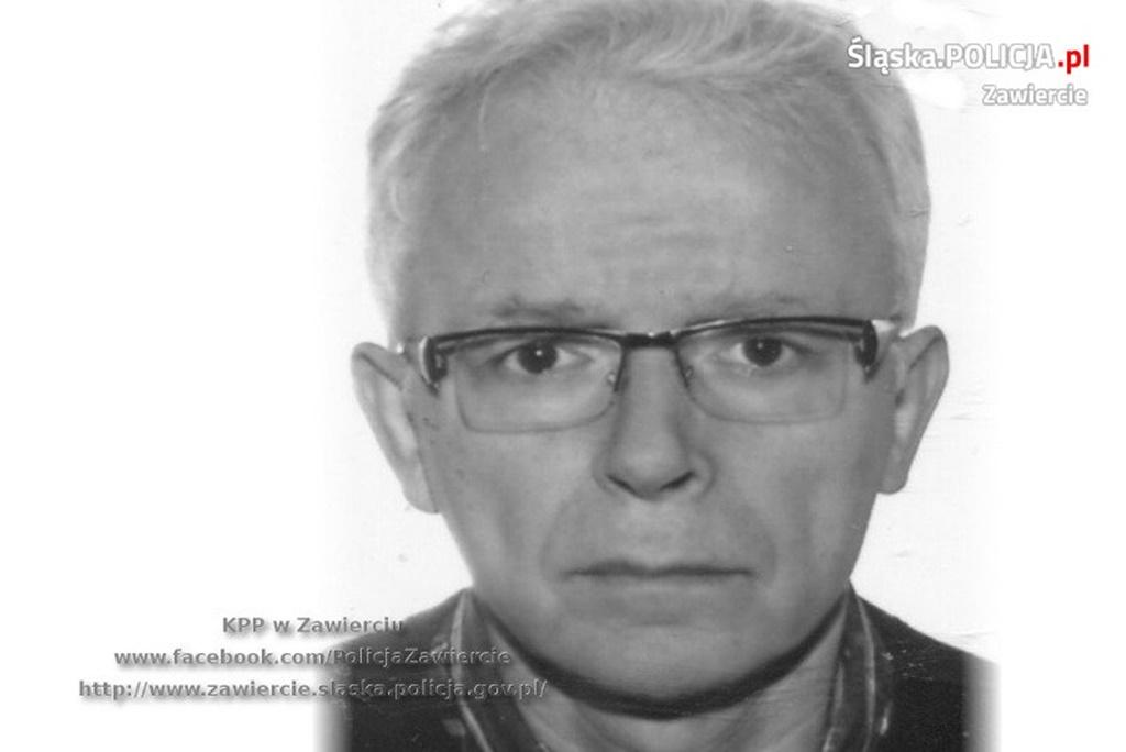 Zaginął Mirosław Guzdraj - fot. KPP w Zawierciu