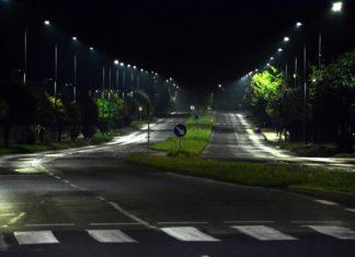 Nowe oświetlenie uliczne w Dąbrowie Górniczej - fot. UM Dąbrowa Górnicza