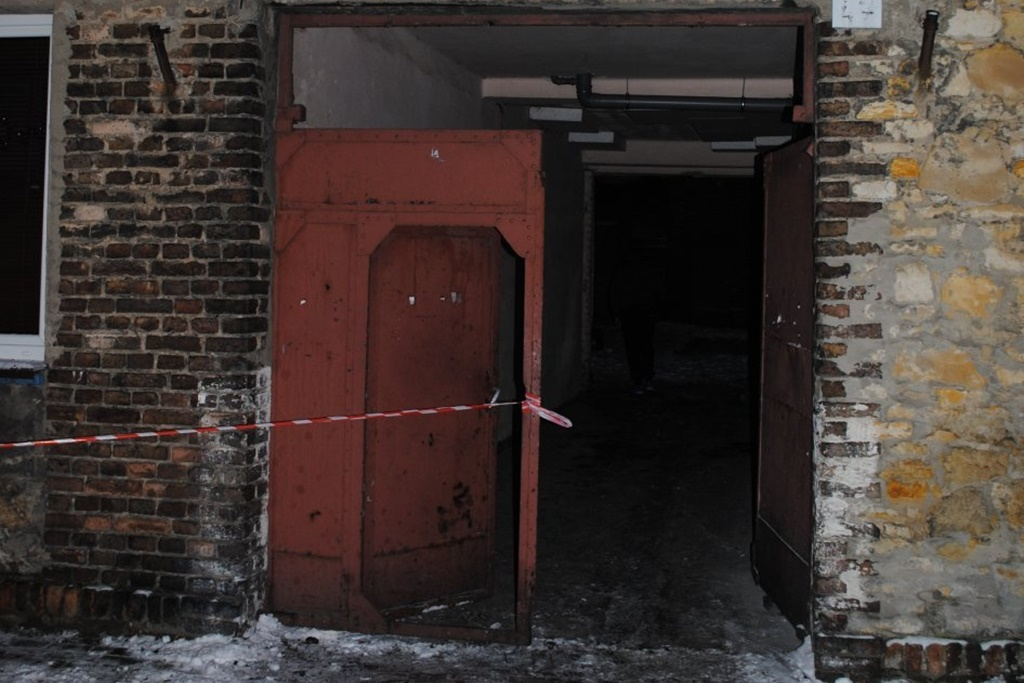 Śmierć w płomieniach - fot. KPP w Będzinie