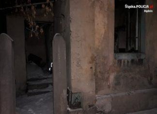 Policjanci uratowali bezdomnego mężczyznę – fot. Policja Będzin