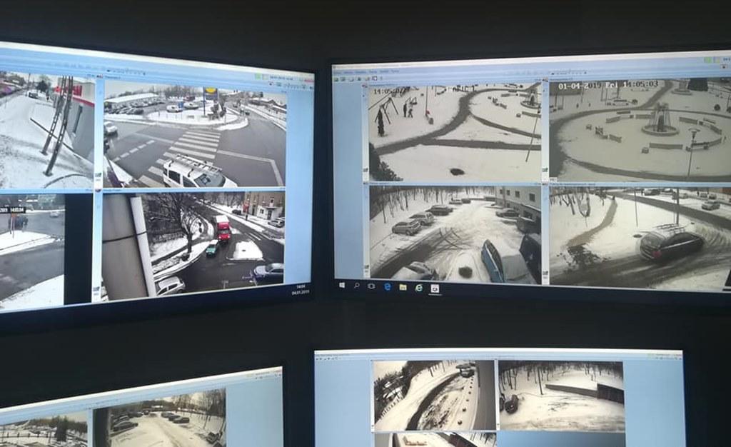 Monitoring miejski w Czeladzi – fot. UM Czeladź