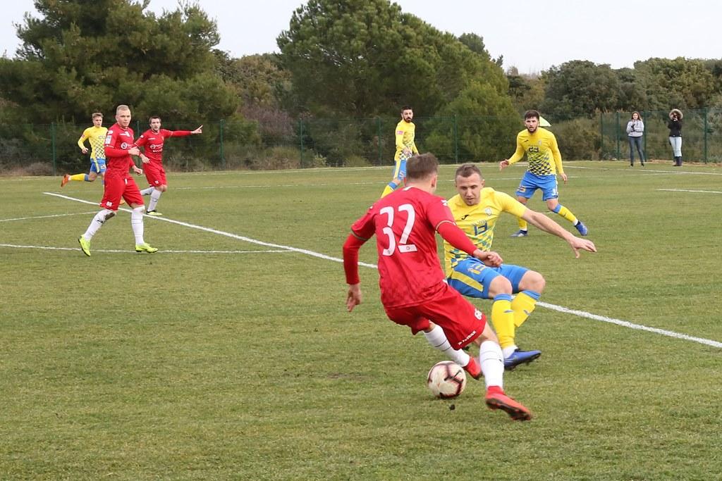 Sparing Zagłębia Sosnowiec z NK Inter Zapresić 4:2 – fot. zaglebie.eu
