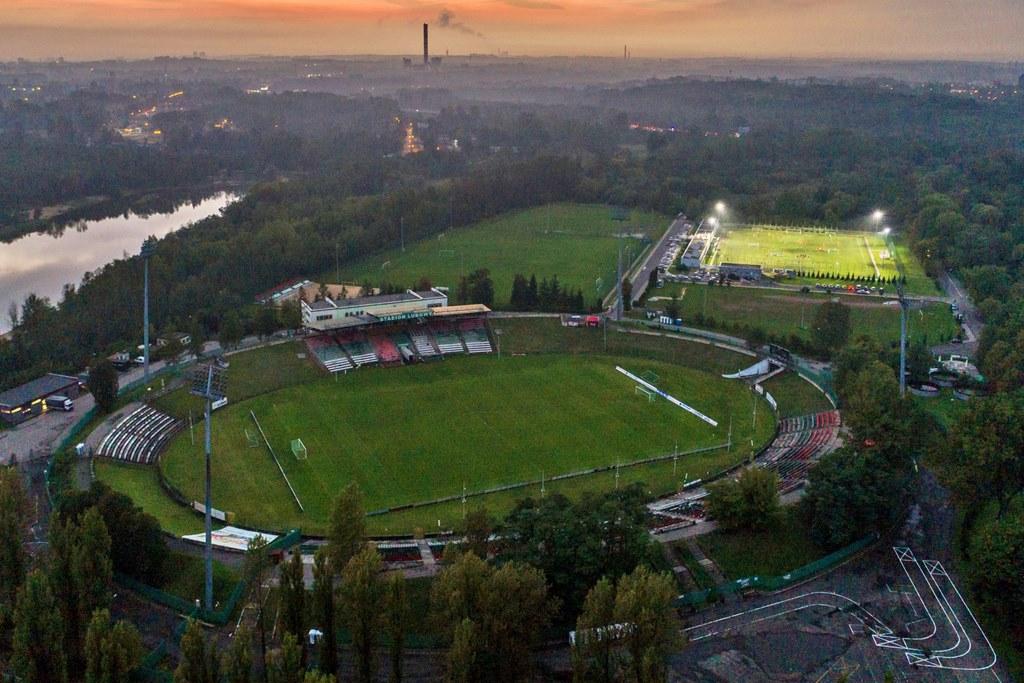 Stadion Ludowy w Sosnowcu - fot. Chawran dla UM Sosnowiec