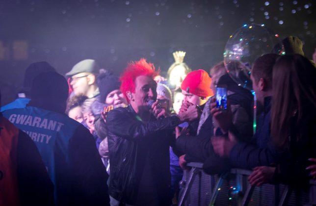 Sylwester 2018 w Sosnowcu - fot. UM Sosnowiec/Mariusz Binkiewicz