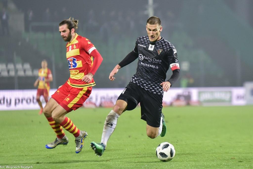 Arkadiusz Jędrych nie jest już piłkarzem Zagłębia Sosnowiec – fot. Wojciech Rejdych