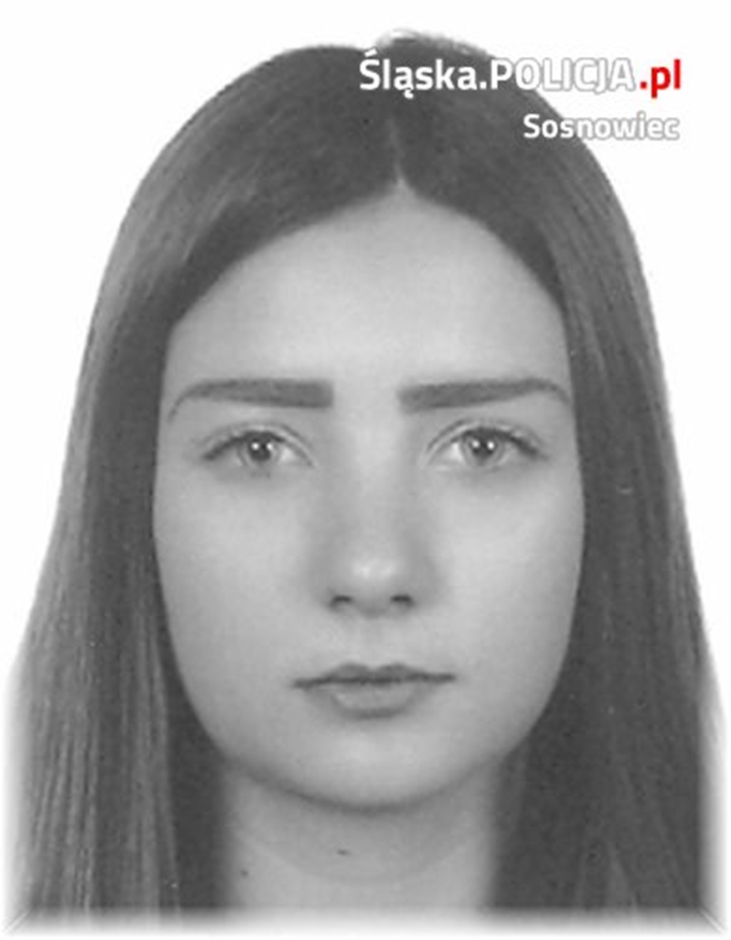 Zaginiona Kinga Jeżewska - fot. KMP w Sosnowcu