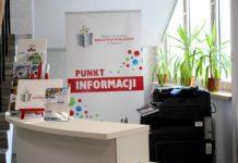 Nowy punkt informacji miejskiej w Będzinie - fot. UM Będzin