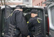 Napad do mieszkania w centrum Będzina – fot. Policja Będzin