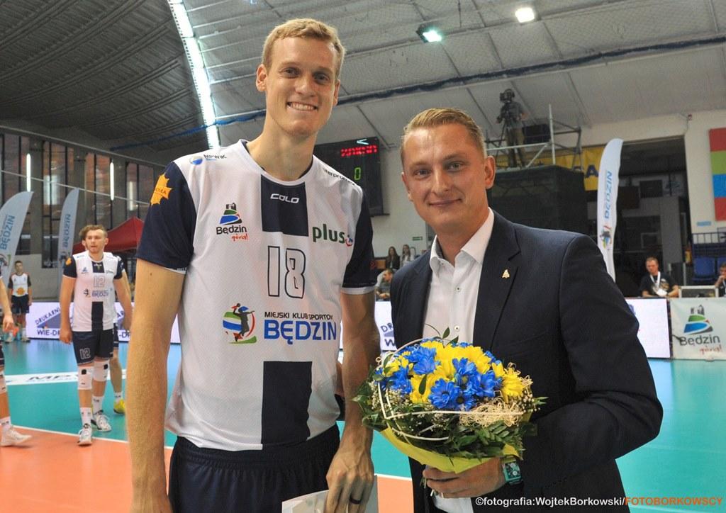 Mariusz Korpak nie jest już prezesem MKS-u Będzin – fot. Wojtek Borkowski/FOTOBORKOWSCY