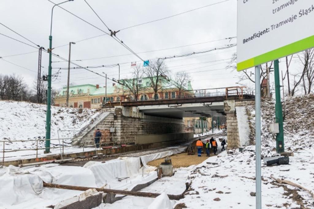 Ulica Żeromskiego Sosnowiec - fot. UM Sosnowiec