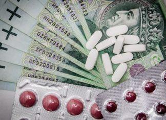 Choroba leki pieniądze - fot. Pixabay