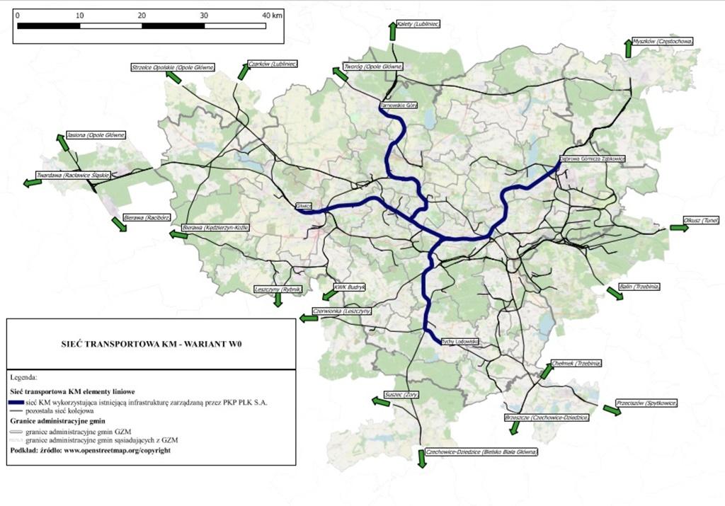 Kolej metropolitalna wariant 0 - fot. Górnośląsko-Zagłębiowska Metropolia