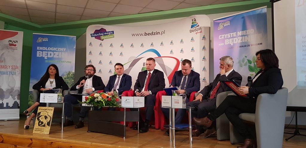 IV Zagłębiowski Okrągły Stół dla Czystego Powietrza - fot. Zagłębiowski Alarm Smogowy