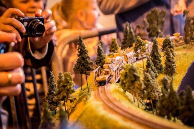 Kolej w miniaturze - fot. UM Sosnowiec
