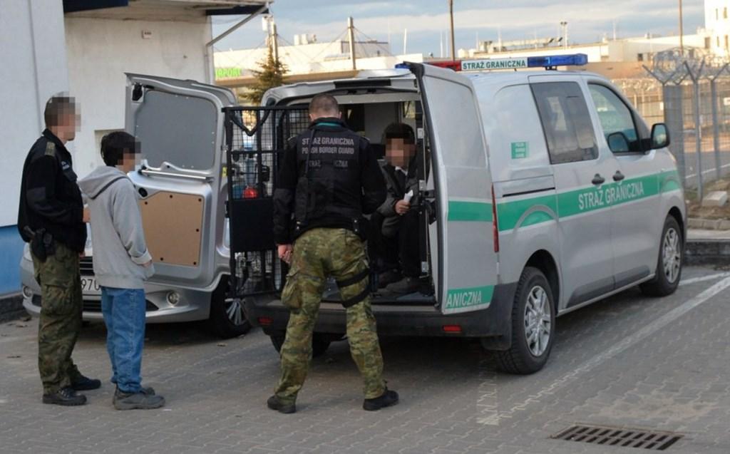 W Sławkowie zatrzymano dwóch imigrantów - fot. Straż Graniczna w Katowicach-Pyrzowicach