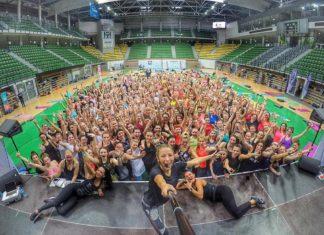 Trening z Ewą Chodakowską - fot. Facebook/ @chodakowskaewa