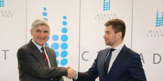 Firma Panattoni Europe postawi trzecią halę w Czeladzi - fot. UM Czeladź