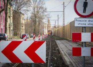 Przebudowa torowiska Konstantynów - fot. UM Sosnowiec