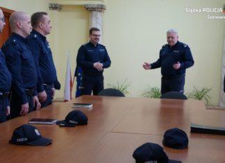 Mariusz Łabędzki nowym zastępcą komendanta sosnowieckiej policji – fot. KMP Sosnowiec