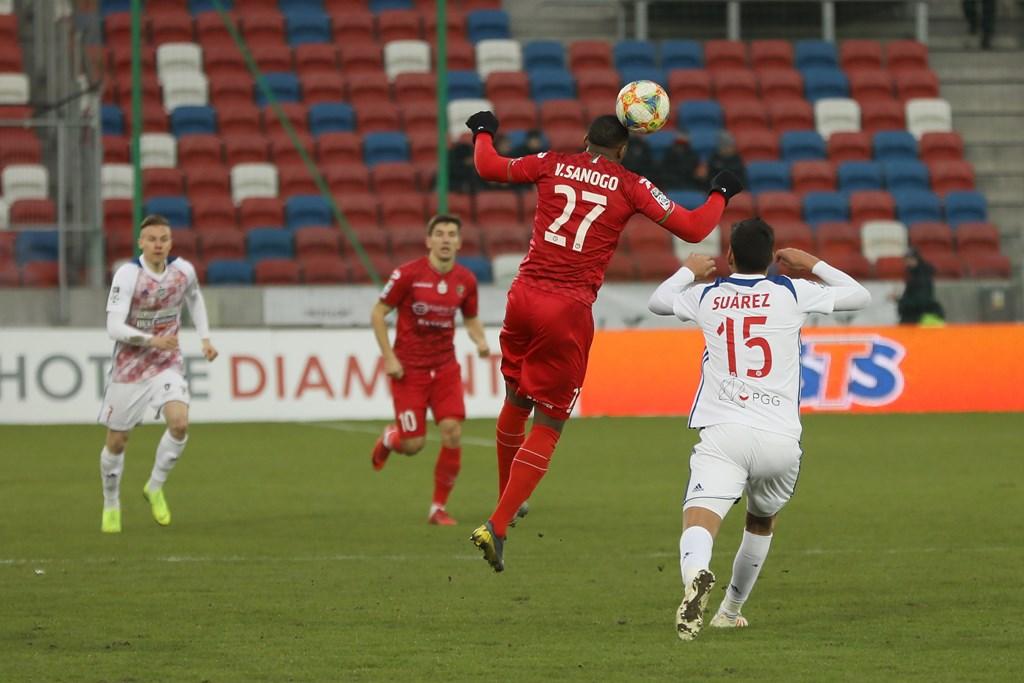 Vamara Sanogo w meczu z Górnikiem Zabrze - fot. Marek Rybicki
