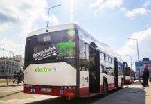 Autobus elektryczny w Sosnowcu – fot. UM Sosnowiec