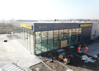 Budowa salonu Opel-Mucha w Sosnowcu - fot. mat. pras.