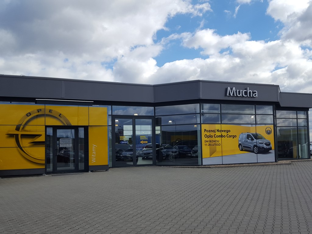 Salon Opel Mucha w Tychach – fot. mat. pras.