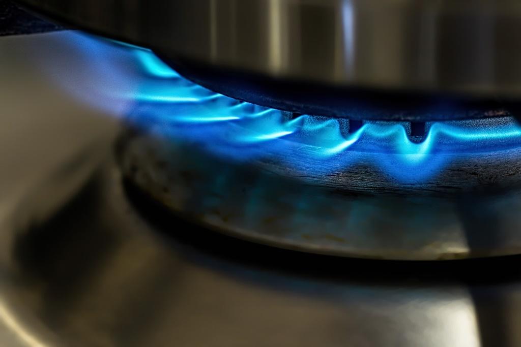 Gaz, płomienie - fot. Pixabay