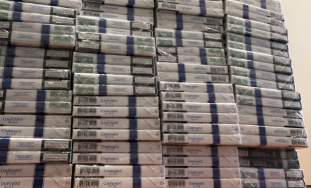 """Przejęli blisko 14 tys. sztuk """"lewych"""" papierosów – fot. Policja Jaworzno"""