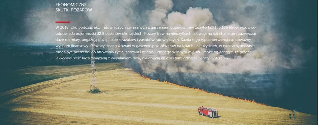 Stop pożarom traw - fot. mat. pras.