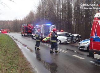 Śmiertelny wypadek z udziałem pijanego kierowcy - fot. KMP w Dąbrowie Górniczej