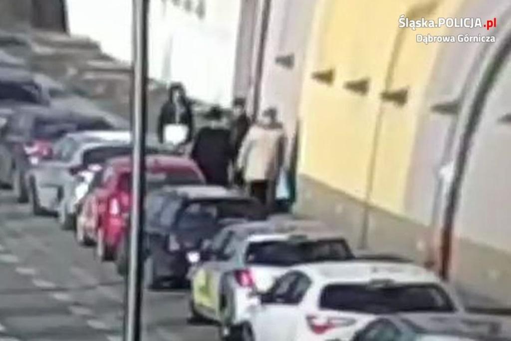 Napadli kobietę - fot. KMP w Dąbrowie Górniczej