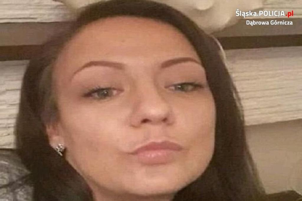 Zaginęła Dominika Wieczorek i jej syn - fot. KMP w Dąbrowie Górniczej