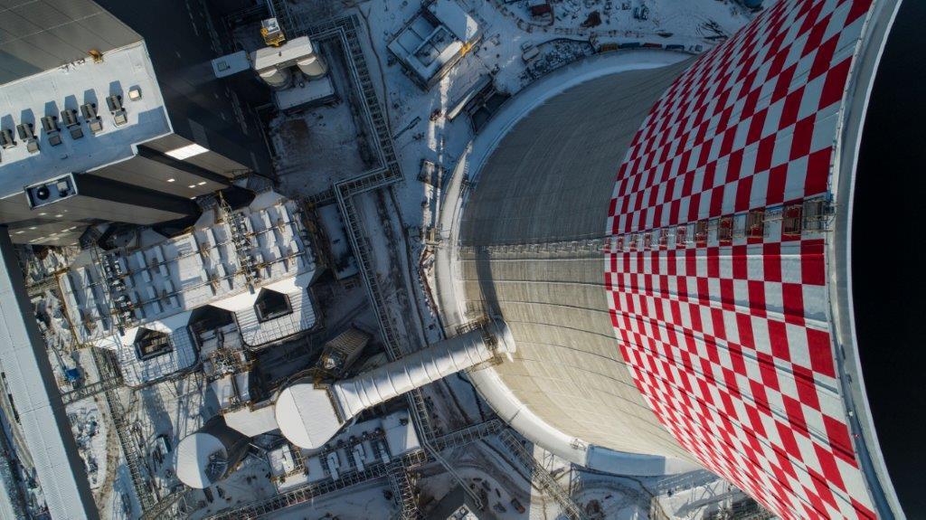 Nowy blok energetyczny 910 MW w Jaworznie - fot. Tauron