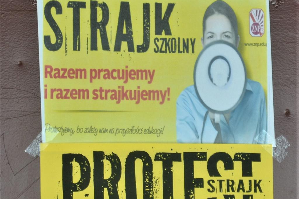 Strajk nauczycieli - fot. Wikipedia