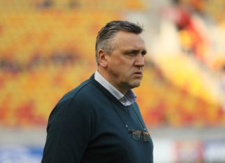 Trener Zagłębia Sosnowiec Valdas Ivanauskas – fot. Marek Rybicki