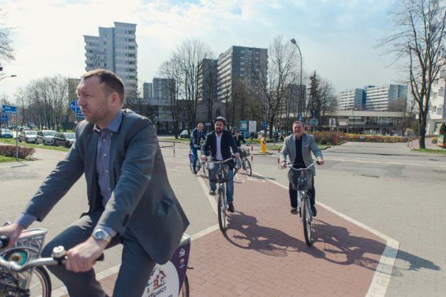 Rowery miejski w Górnośląsko-Zagłębiowskiej Metropolii – fot. Metropolia GZM