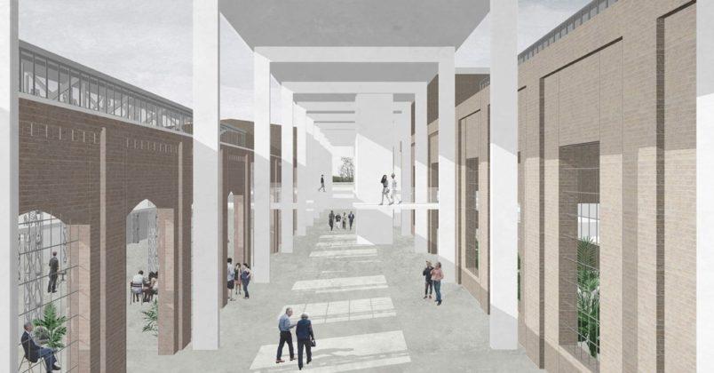 Wyróżnienie honorowe w konkursie na nowe centrum Dąbrowy Górniczej otrzymała pracownia D+P Architektura Paweł Skóra – fot. mat. pras.