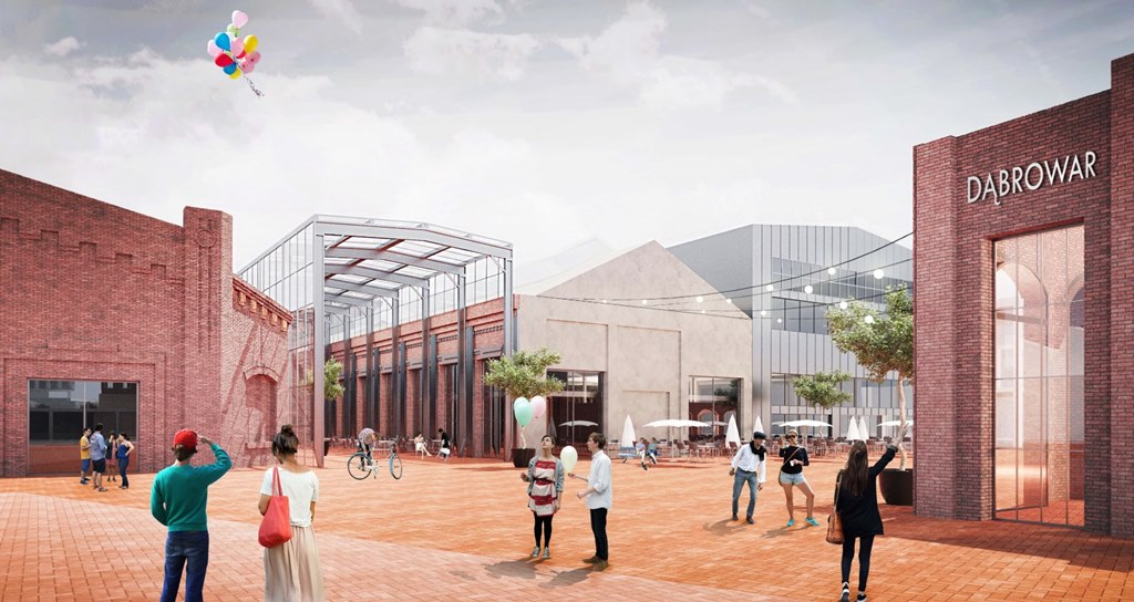 Trzecie miejsce w konkursie na nowe centrum Dąbrowy Górniczej zajęła pracownia Heinle, Wischner Und Partner Architekci - fot. mat. pras.