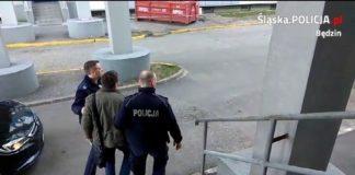 """Nietrzeźwy kierowca """"elki"""" zatrzymany - fot. KPP w Będzinie"""
