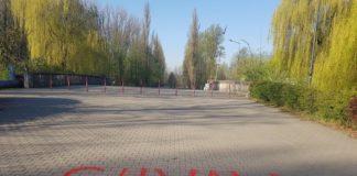 Akt wandalizmu na sosnowieckich Stawikach – fot. Facebook/Arkadiusz Chęciński