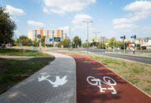 Droga rowerowa w Sosnowcu - fot. UM Sosnowiec