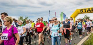 Rajd Nordic Walking w Jaworznie - fot. mat. pras.