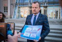 Prezydent Sosnowca, Arkadiusz Chęciński, zaniepokojony cenami energii - fot. UM Sosnowiec
