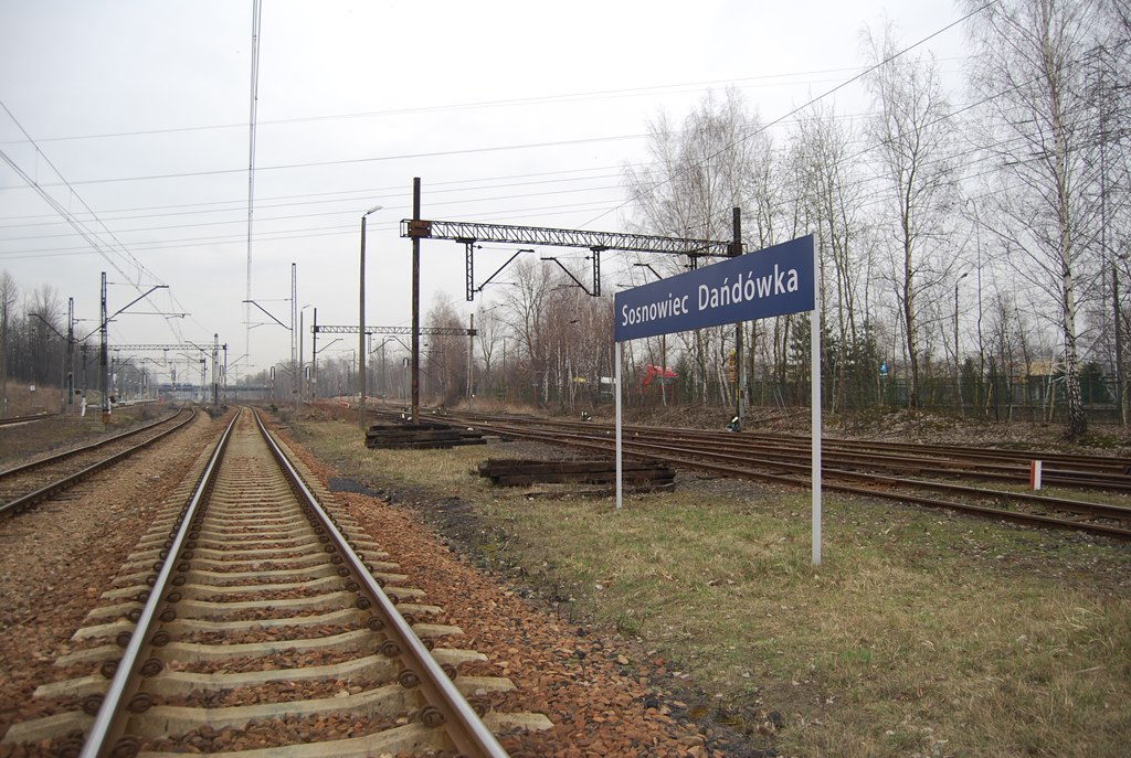 Stacja Sosnowiec Dańdówka - fot. PKP