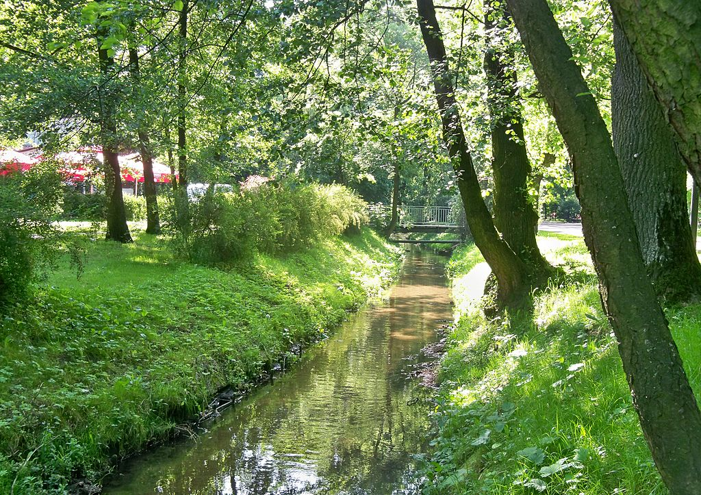 Park im. Adama Mickiewicza w Zawierciu - fot. Wikipedia