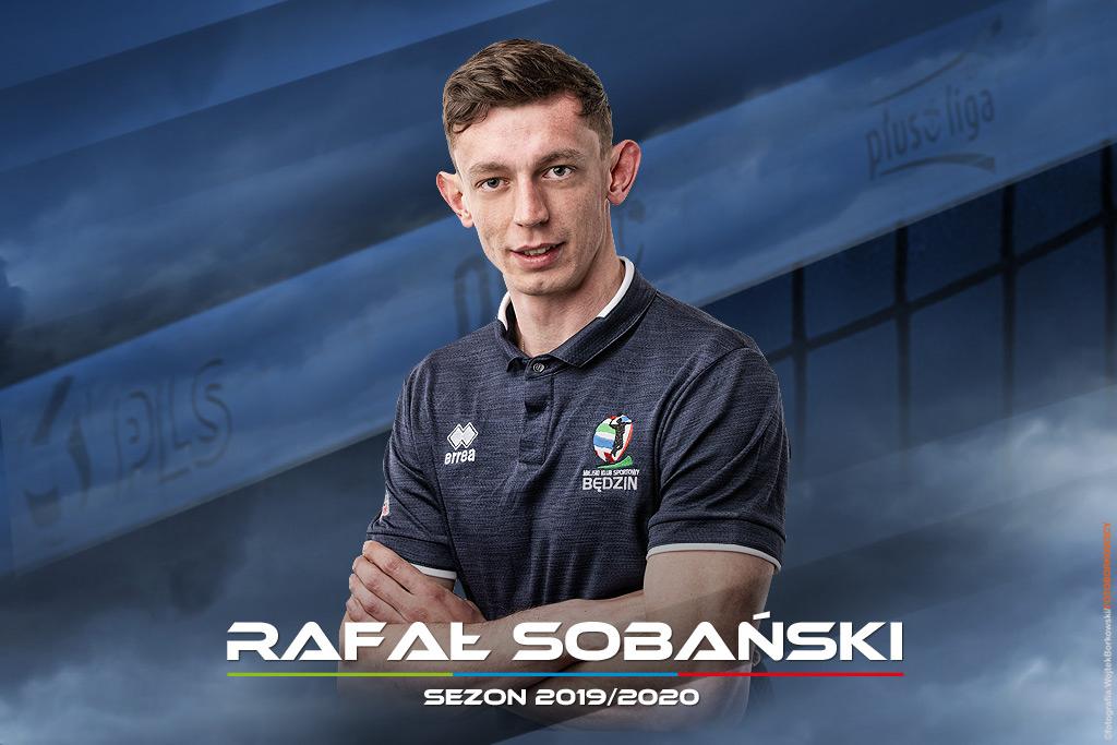 Rafał Sobański dołączył do MKS-u Będzin - fot. Wojtek Borkowski/FOTOBORKOWSCY