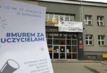 Strajk nauczycieli - fot. UM Sosnowiec